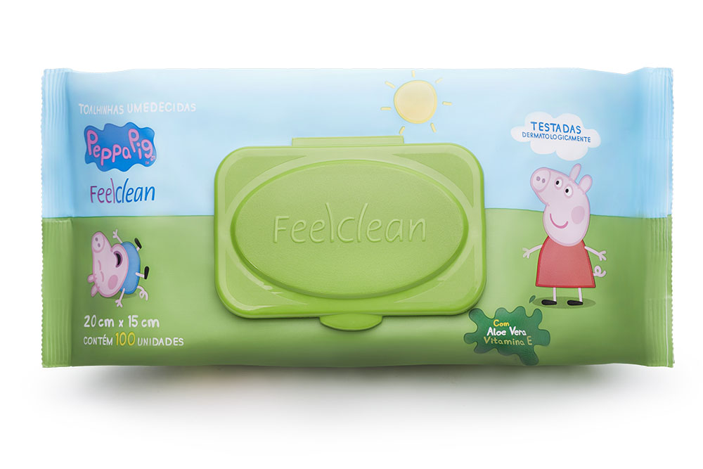 Expositor 2019: FeelClean apresenta sua linha de lenços umedecidos para crianças
